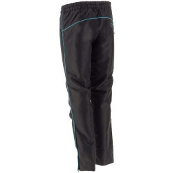 Pants suprima, black/green.